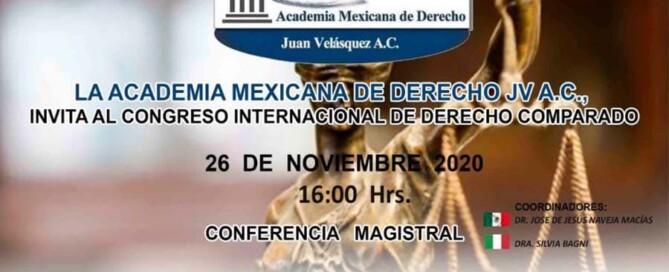 CONGRESO INTERNACIONAL DE DERECHO COMPARADO