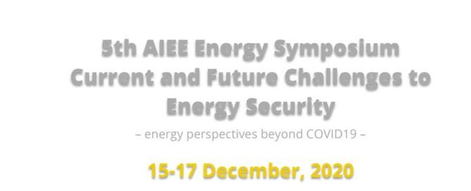Conference programme _ AIEE Symposium15.17 dicembre 2020