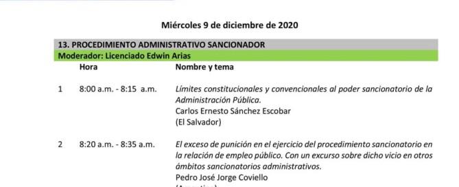 Congreso Internacional de Derecho Administrativo