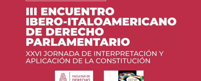 III ENCUENTRO IBERO-ITALOAMERICANO DE DERECHO PARLAMENTARIO