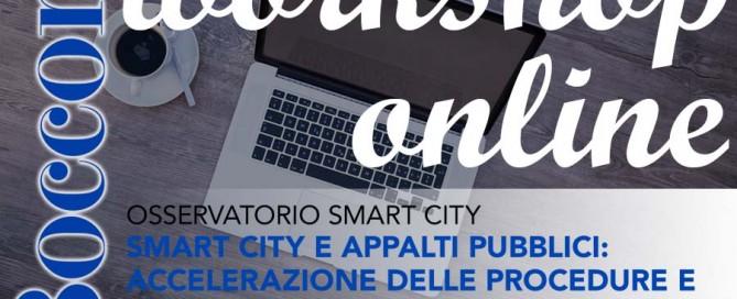 WEBINAR 21 giugno -SMART CITY