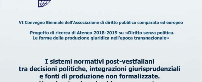 BANNER locandina convegno DPCE Pisa 8-10 settembre 2021